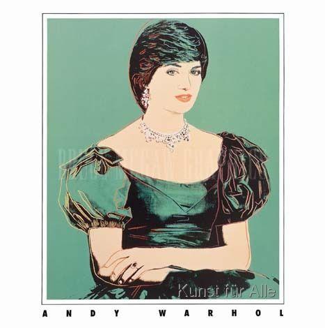 Andy Warhol - Princess Diana (1982)