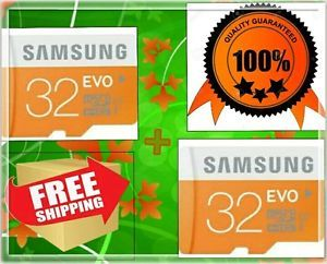 COMBO OF 2 SAMSUNG EVO 3232 GB MICRO SD SDHC CLASS 10 MEMORY CARD Rs.440 Only At Ebay