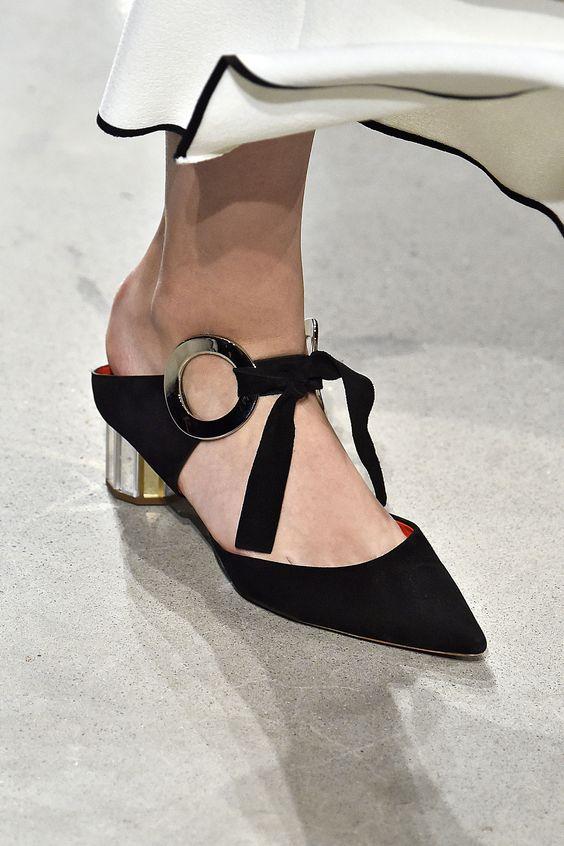 Shoe trend | Proenza Schouler | via Harper