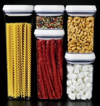 I want these.... storage solutions, get organized with these OXO good grips containers set of 5