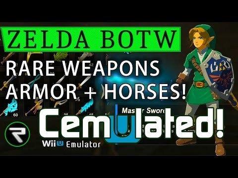 Cemu 1 12 1 Tutorial Amiibo Zelda Breath Zelda