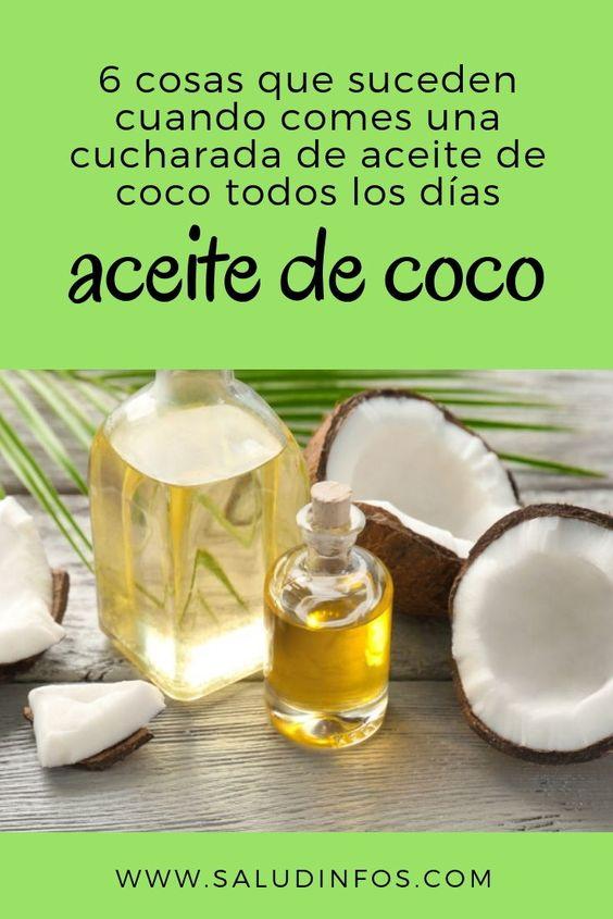 6 Cosas Que Suceden Cuando Comes Una Cucharada De Aceite De Coco Todos Los Días Aceite Coco Food Recognition