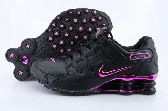 Femmes Nike Shox Navina sparkle gris