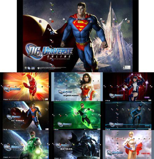 Un magnifique thème de DC Universe Online pour votre PS3 !    DCUO Heroes PS3 Theme by ~Oxhine