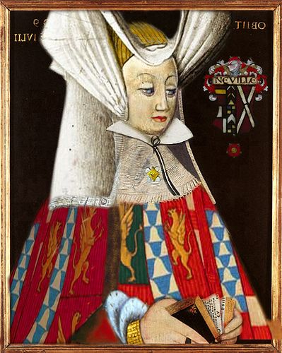 Lady Anne Neville, Queen Consort of Richard III (1456-1485). The young widow was an English noblewoman, the daughter of Richard Neville, 16th Earl of Warwick. She became Princess of Wales as the wife of Edward of Westminster. Her only son with Richard III died young and she herself died at the age of 28. She is the last Plantagenet queen.