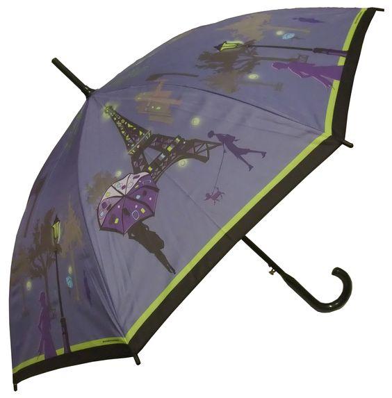 Full Size Paris Rhapcity Umbrella - Raindrops Umbrellas & Rainwear Canada
