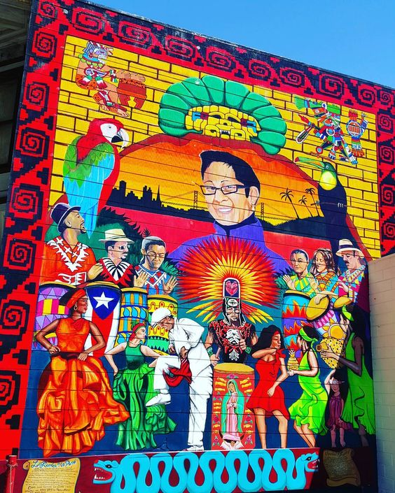 #streetart #mission #24thstreet #sanfrancisco #californialove #francaisauxusa #cali | Photo de @xavitwitr