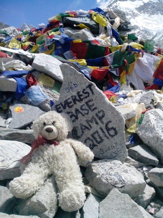 Мы дошли до Everest Base Camp!  С трека к Базовому лагерю Эвереста http://hikeup.net/trekk/7/