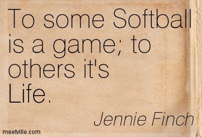 Lessons I Learned from Softball