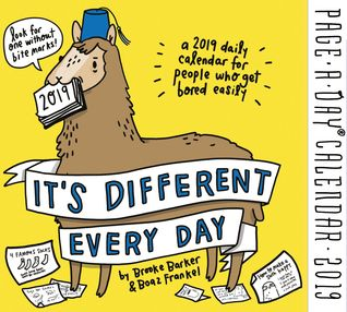 Download Pdf It S Different Every Day Page A Day Calendar 2019 By Brooke Barker Free Epub Mobi Ebooks Classic Books Paperbacks Daily Calendar