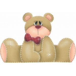 Patch Collage Urso pimpolho