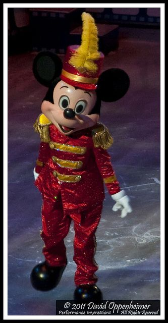 Mickey Mouse with Disney on Ice 100 Years of Magic