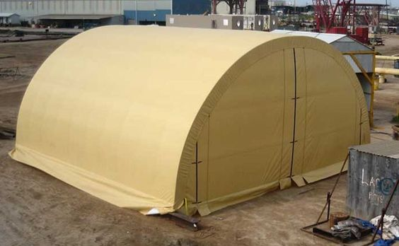 Portable Snow Shelter : Sun wind snow safe portable garage shelters brand new