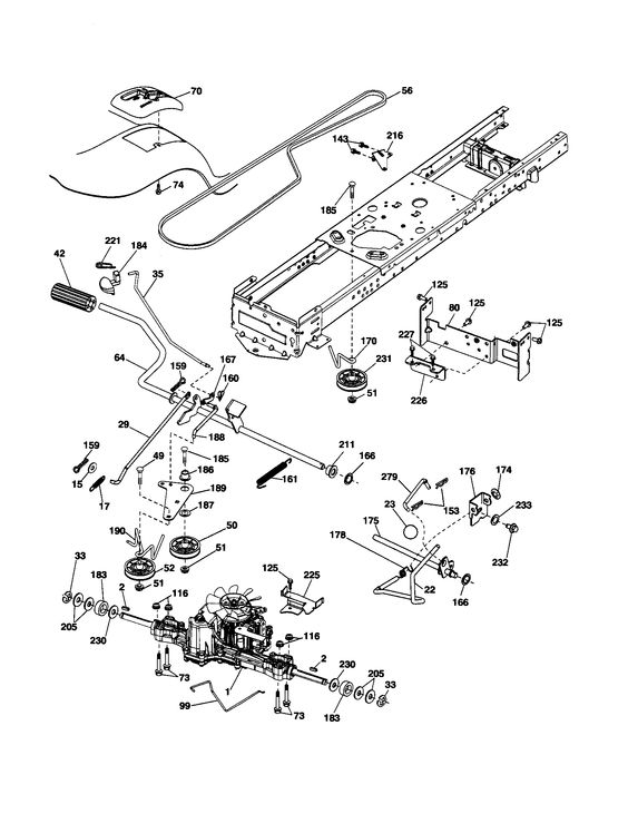Husqvarna Riding Mower 960450004 Wiring Diagram