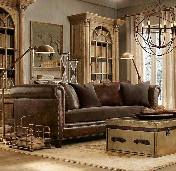 Mua sofa da tphcm trang trí phong cách cổ điển