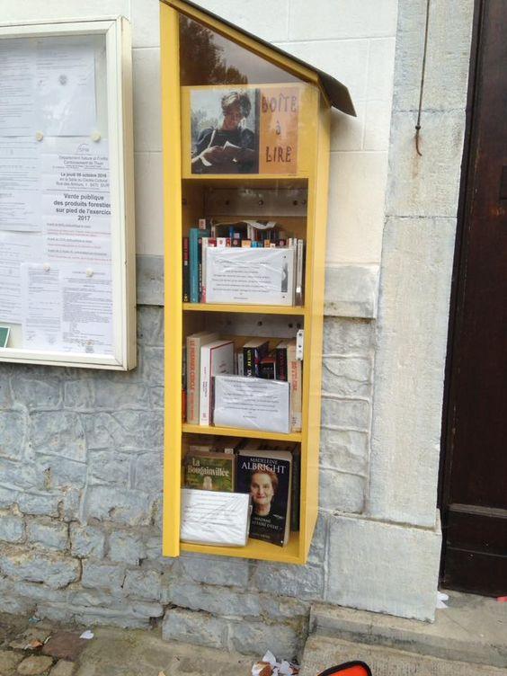 Boîte à livres Gerpinnes