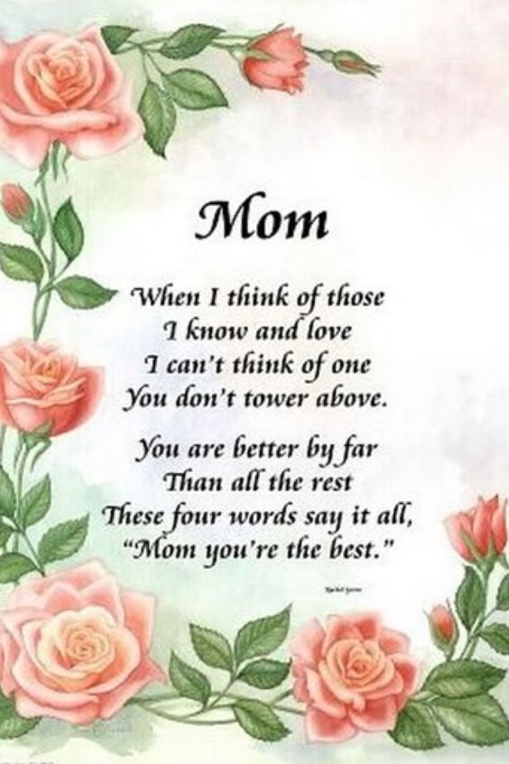 Mothers Day Poem!