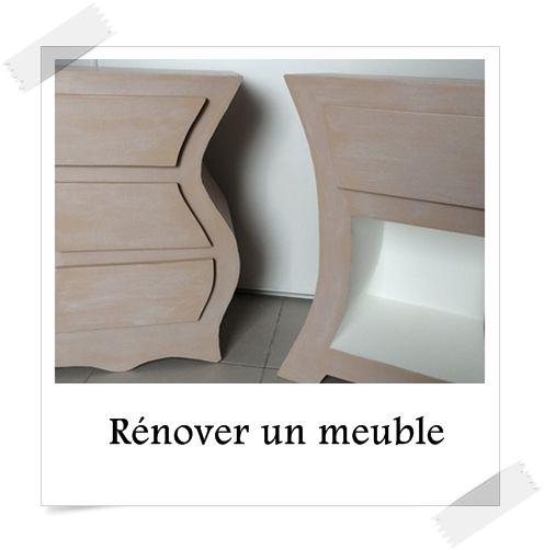R nover un meuble en carton c 39 est possible comme pour un for Renover un meuble en pin