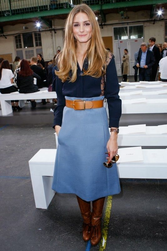 Olivia Palermo at Chloe (September 2013):