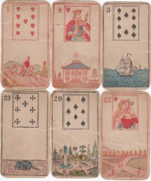 L'Oracle de Bonaparte ou Cartes de Mlle. Lenormand-NY