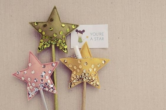 Sparkly star wand =)