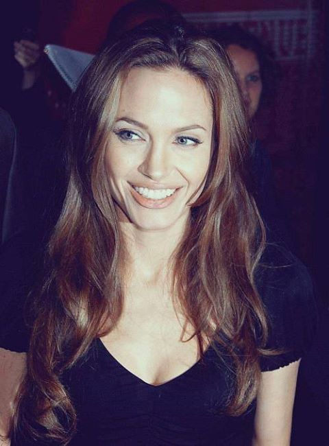 Angelina Jolie Hair Image By Joe Cool On Xfiles Angelina Jolie Pictures Long Layered Hair