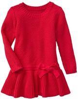 Bow sweater dress