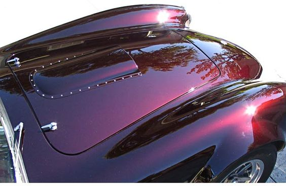 Black Cherry Candy Car Paint