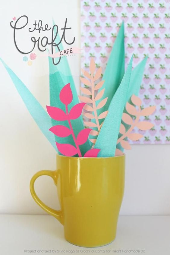 Perfect paper plants - they never die!