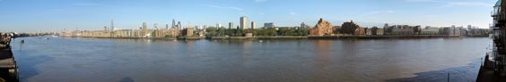 Wapping, Shadwell and Limehouse on a spring morning.