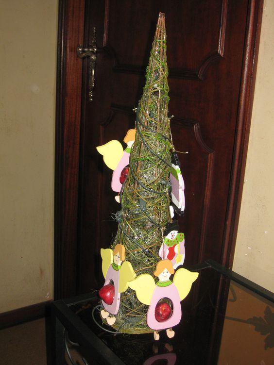 Árvore de Natal de Anjos by MA