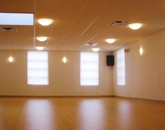 The yoga room where I practice.  Portland Power Yoga.  Oh, I happen to own this awesome place with my wife.