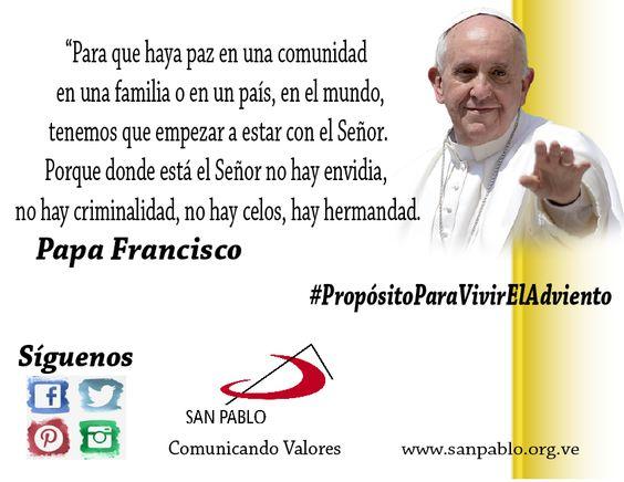 Propuesta para vivir la #Paz