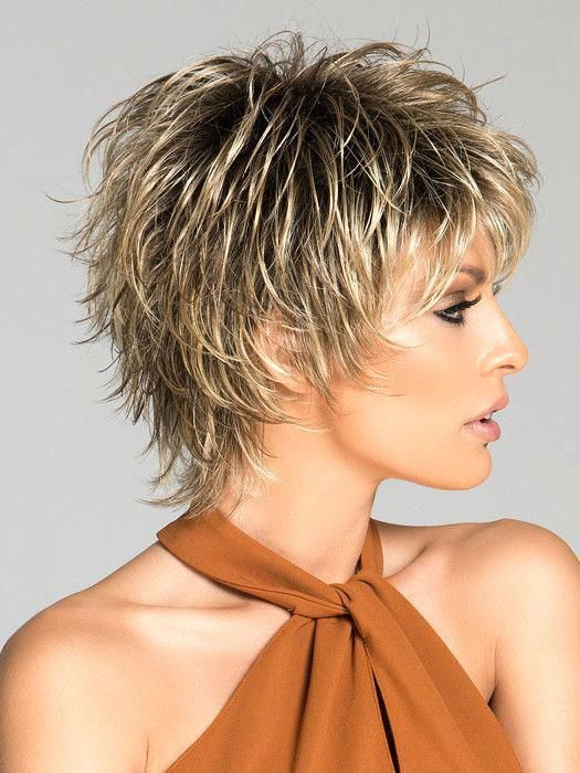 Unique Short Hairstyles With Bangs For Thick Hair Short Hairstyles For Black Women Over 50 Shorter Hairstyles Short Choppy Hair Choppy Hair Short Hair Styles