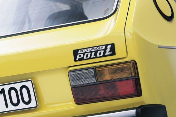 VW Polo L Yellow
