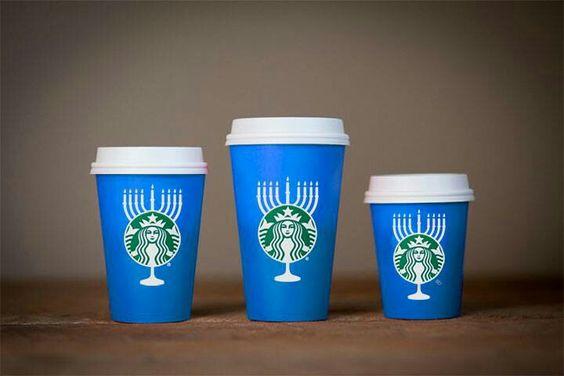 The Starbucks Blue Cup. It's beautiful.