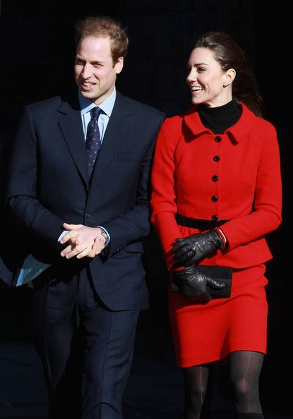Kate Middleton Photos - Prince William And Kate Middleton Visit University Of St Andrews - Zimbio