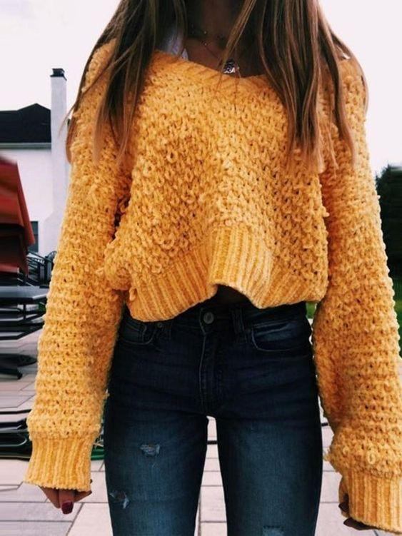 Fall Loose Sweater