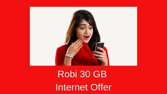 Robi 30 Gb Internet For 90 Days Internet Cost Internet Internet Offers