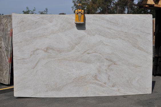 Granite Slab Yards : Taj Mahal Quartzite from Amazon Stone Boutique @ ENCINITAS slab yard