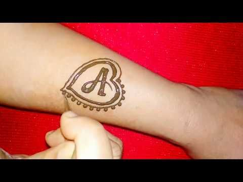 Youtube Henna Tattoo Designs Alphabet Tattoo Designs Tattoo Lettering