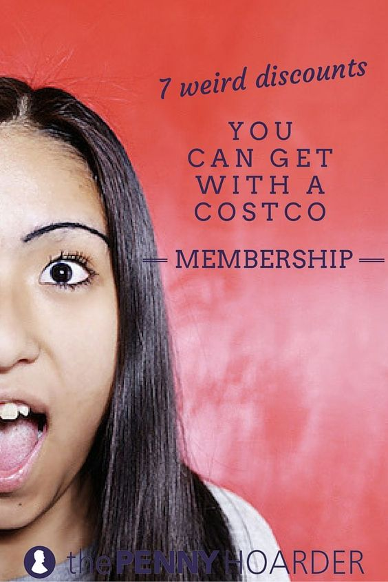 It's a pretty big store, so it's no surprise there are some strange products on the shelves. Check out these seven odd discounts you can get with your Costco membership. - The Penny Hoarder http://www.thepennyhoarder.com/weird-costco-membership-discounts/