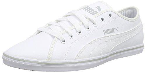 Puma Elsu v2 SL, Unisex-Erwachsene Sneakers, Weiß (white-white 02), 45 EU (10.5 Erwachsene UK) - http://herrentaschenkaufen.de/puma/45-eu-puma-elsu-v2-sl-unisex-erwachsene-sneakers-01-2