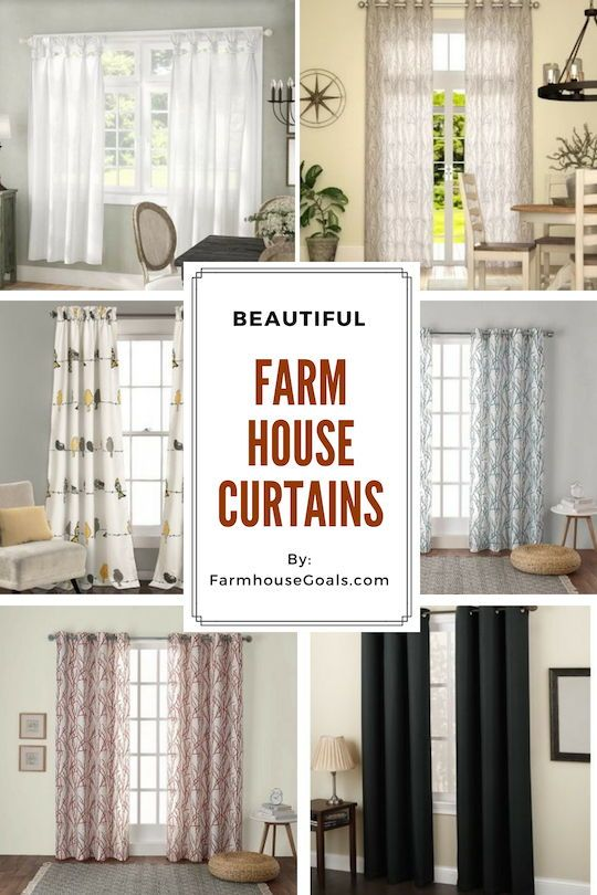 Farmhouse Curtains Rustic Curtains Farmhouse Goals Farmhouse Curtains Farmhouse Style Curtains Farmhouse Style Living Room