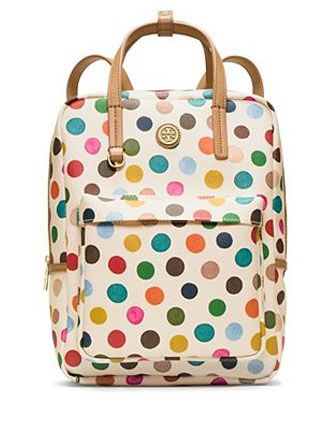 Tory Burch KERRINGTON Top Handle Backpack In Multi Dot