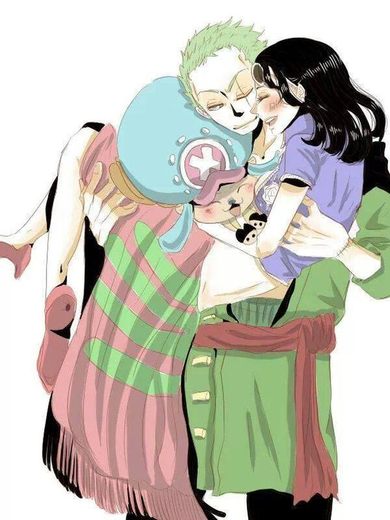 Their Family Zoro X Robin Zoro X Robin Pinterest Robins One Piece And So Cute