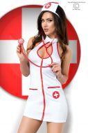Femme-Fatale-Dessous - Einfach anziehend Anziehen! - Sexy Nurse Set CR3854