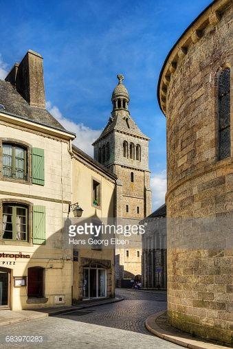 Church St. Croix, Quimperle, Quimper, Finistere, Brittany,... #saintecroix: Church St. Croix, Quimperle, Quimper, Finistere,… #saintecroix