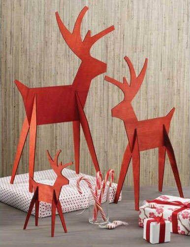 El rojo es tendencia en decoraci n de navidad 2014 - Navidad decoracion manualidades ...