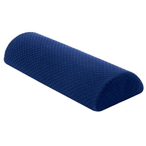 Carex Memory Foam Lumbar Pillow And Leg Pillow Half Moon Pillow For Lower Back Knee Bolster Pillow For Legs Reviews Bantal